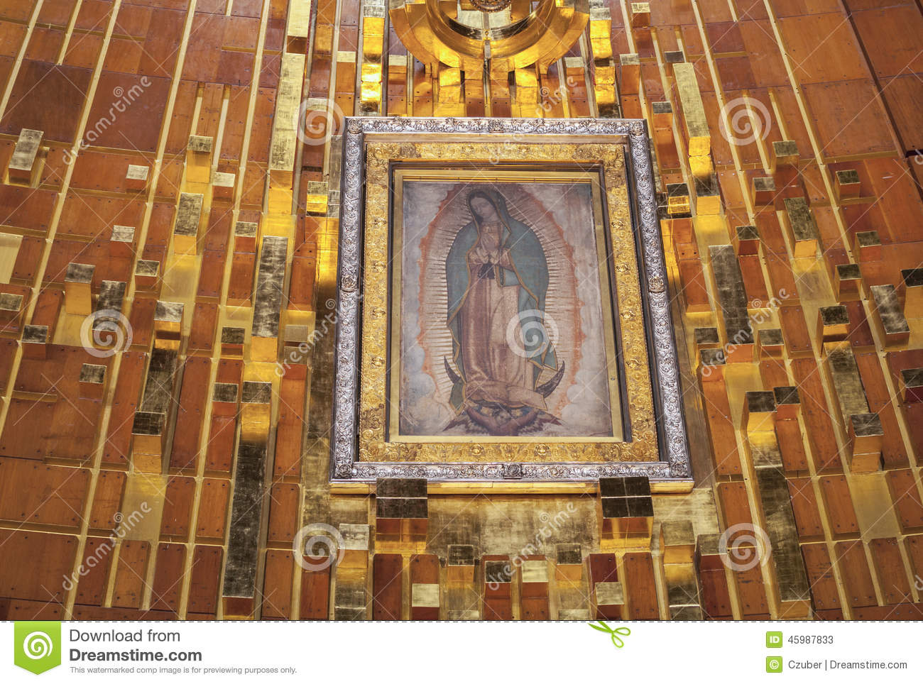 Tilma Of Our Lady Of Guadalupe Editorial Stock Photo Image Of
