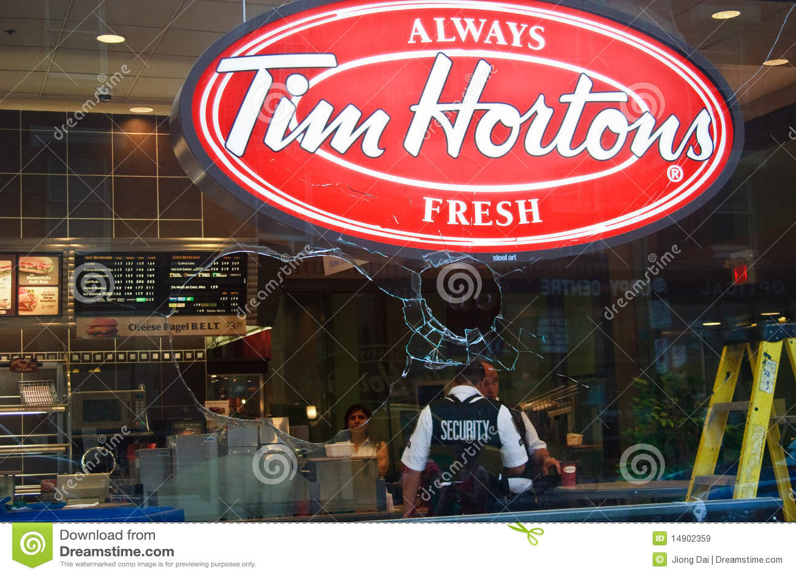 Tim Hortons Toront G8/G20 Protest Riots