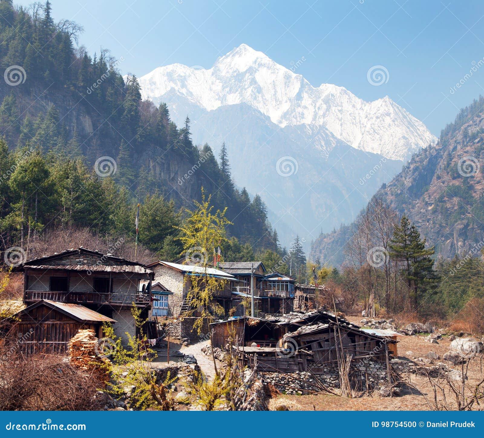 Timang by och montering Annapurna 2 II