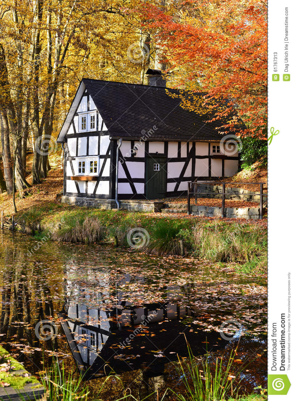 Timber architecture stock photo image 61767313 for Traditional small house
