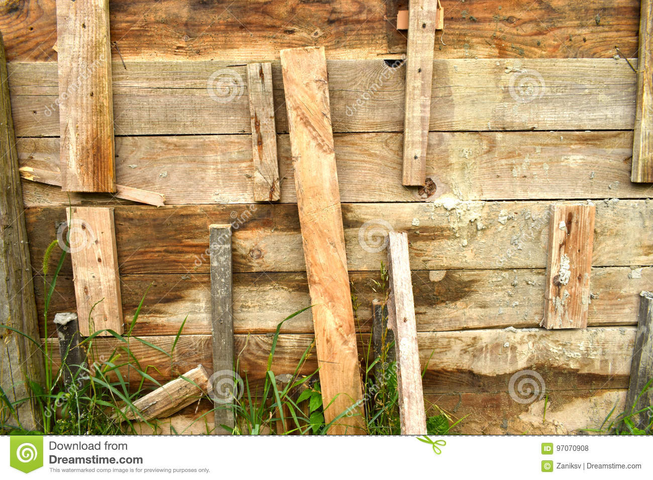 Timber formwork stock photo  Image of detail, outdoor - 97070908