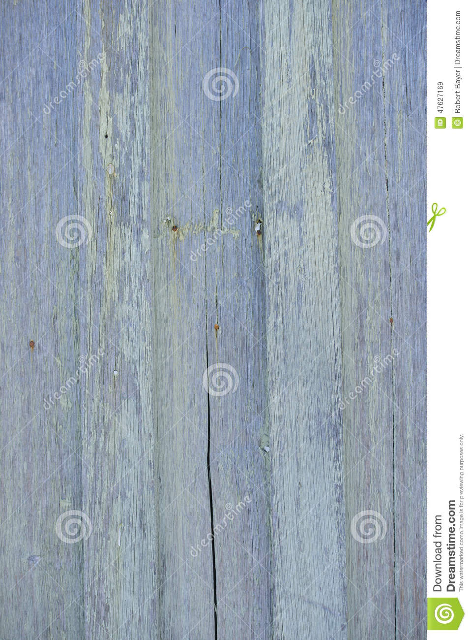 Timber Wall With Wood Grain Texture