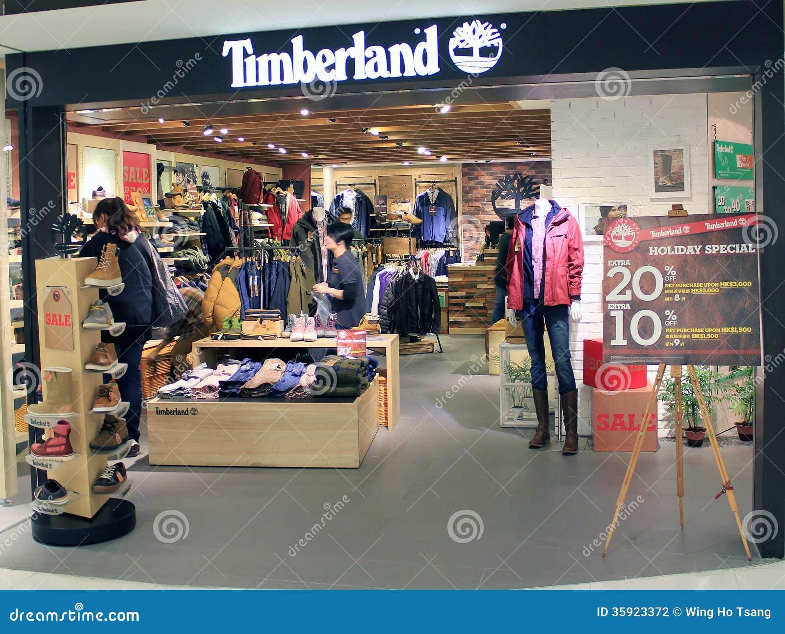 timberland retailer