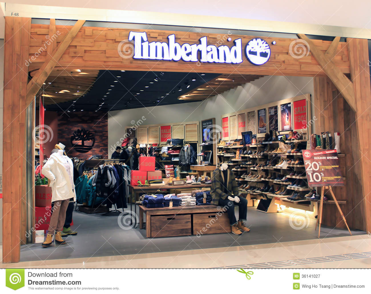 the latest 9d77c e8f1b Timberland Shop In Hong Kong Stock Photo 36141027 - Megapixl