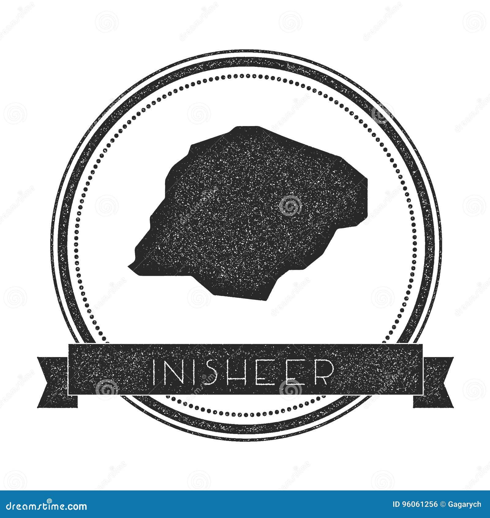Timbre de carte d Inisheer