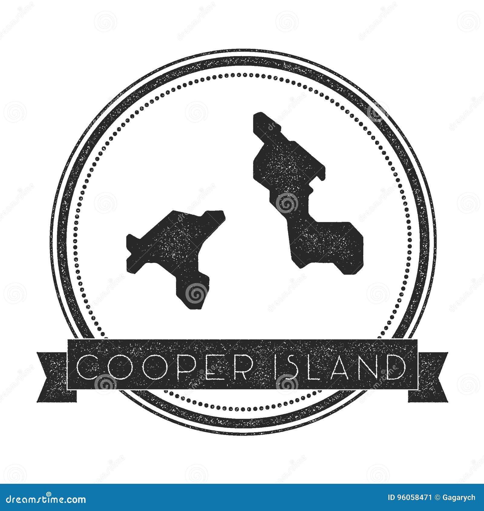 Timbre de carte d Island de tonnelier