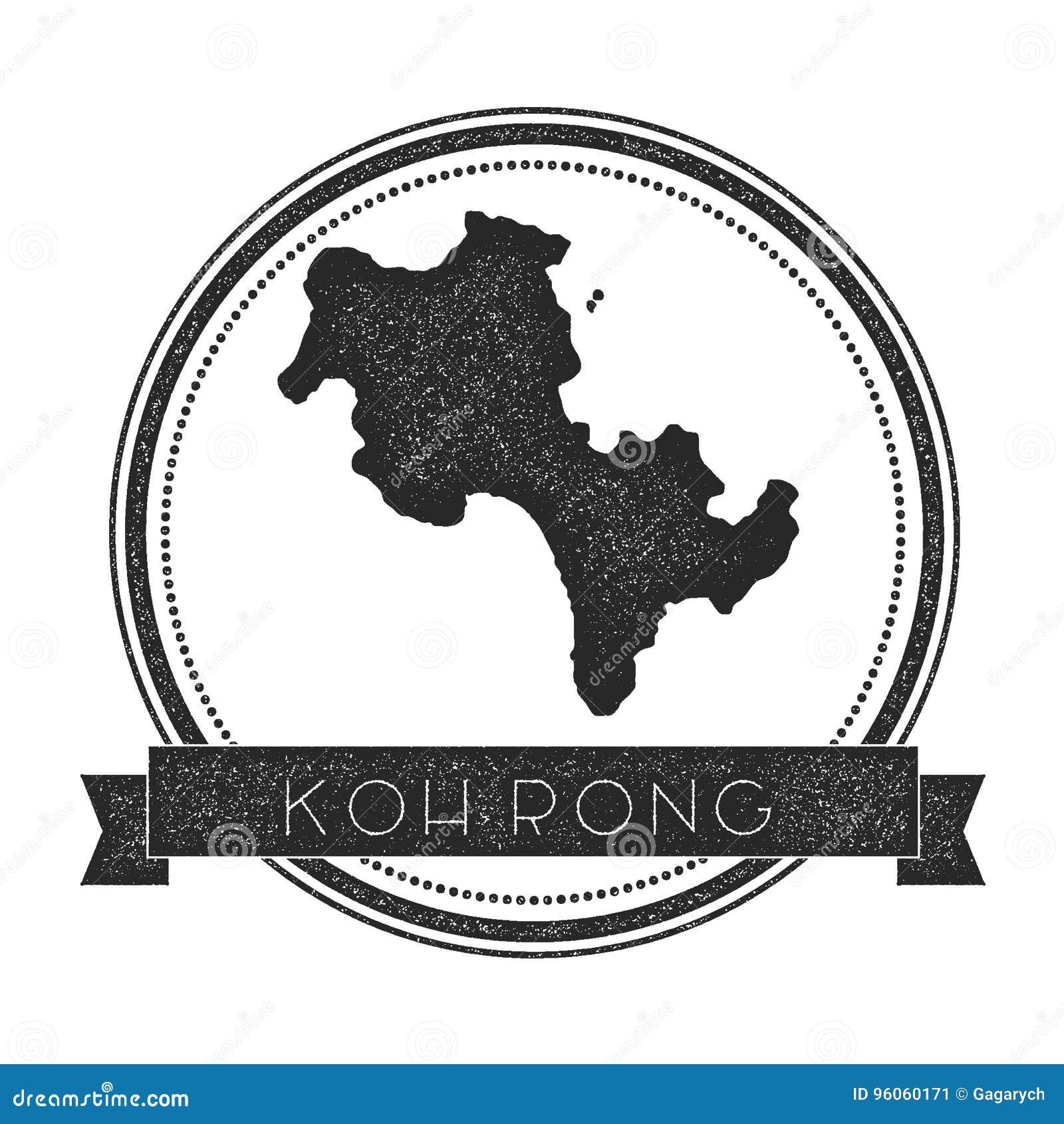 Timbre de carte de Koh Rong