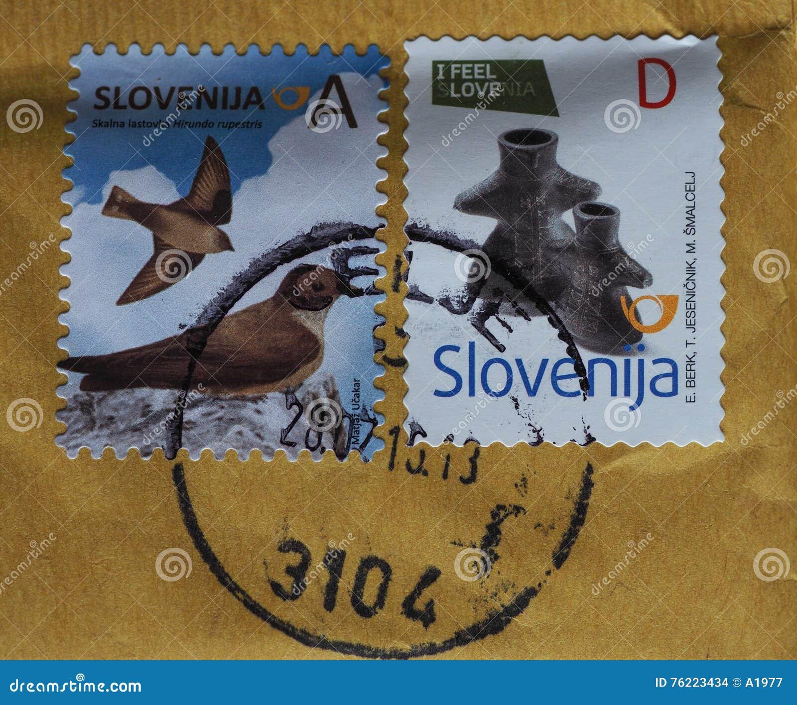Timbres de la Slovénie