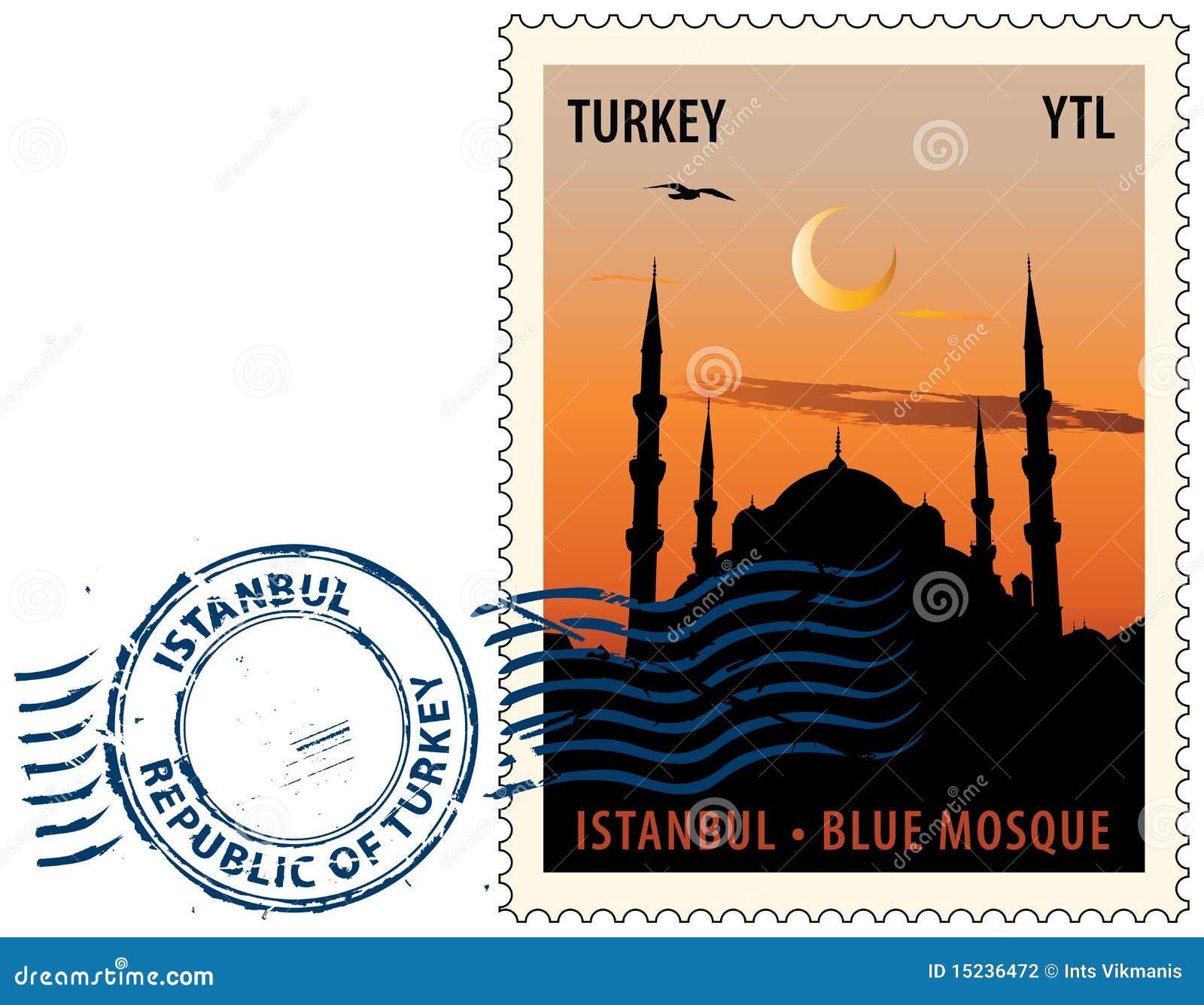 Timbro postale da Costantinopoli
