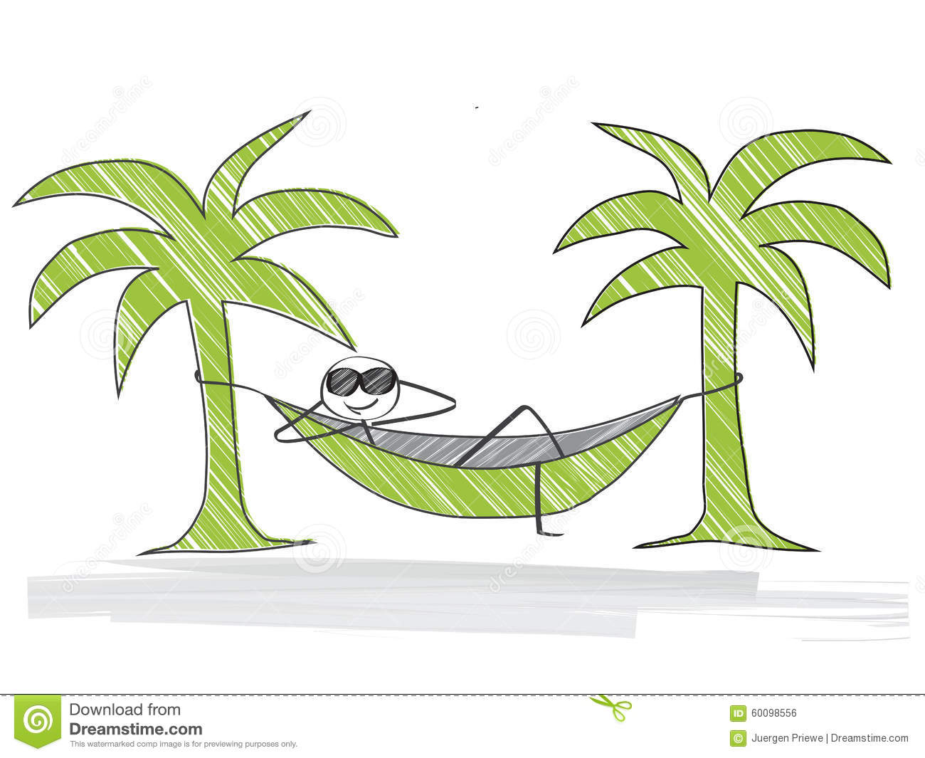 Time For A Break Stock Vector Illustration Of Palm
