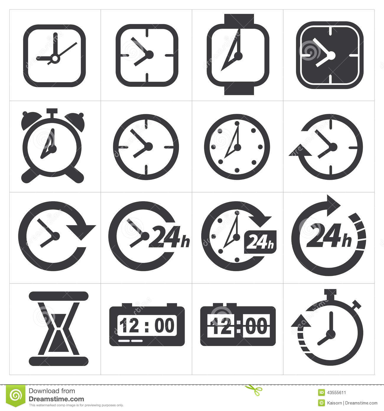 score clock how to set time of day