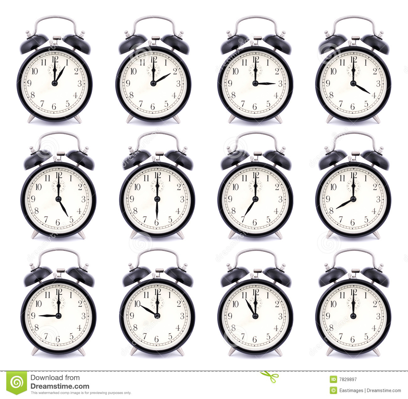 Time Collection of Alarm Clock