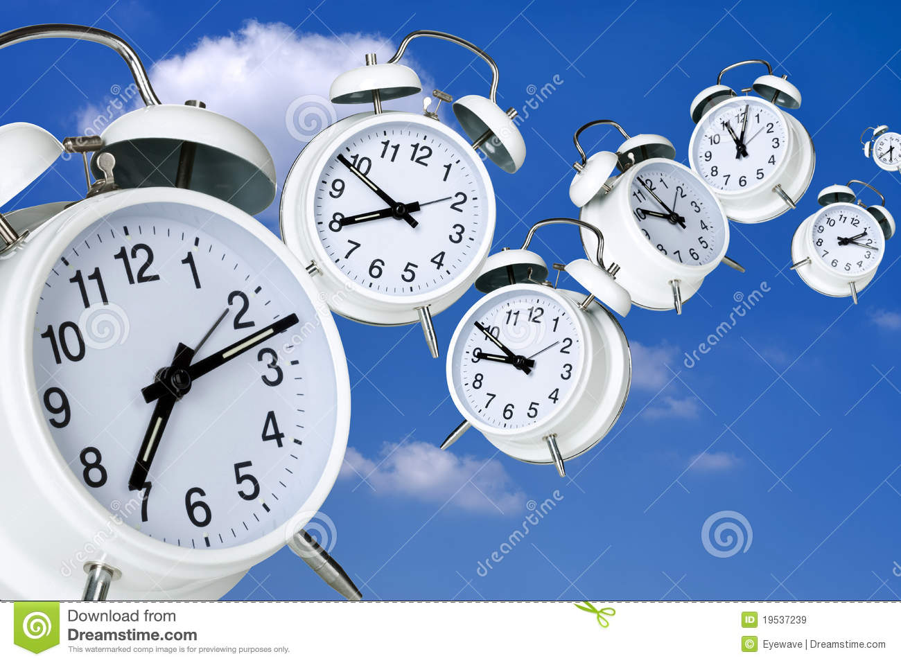 Time Flies Royalty Free Stock Images Image 19537239