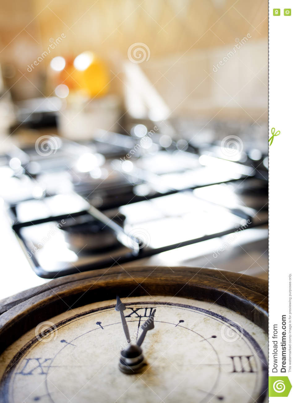 Lunch Time Dining Royalty-Free Stock Image