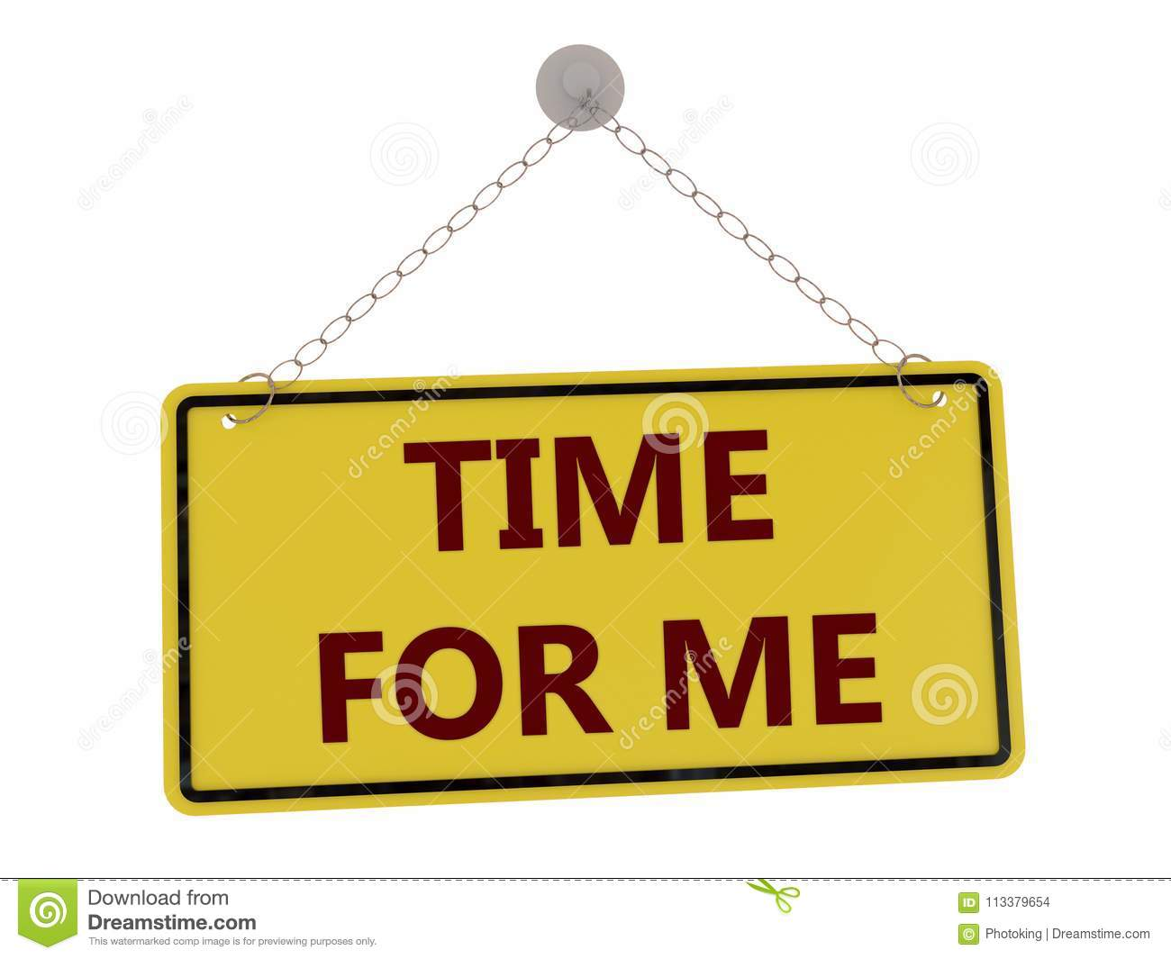 Time for me sign