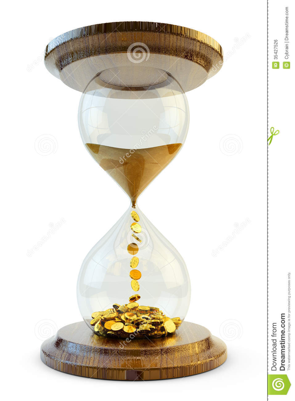 time is money concept royalty free stock image   image 35427526