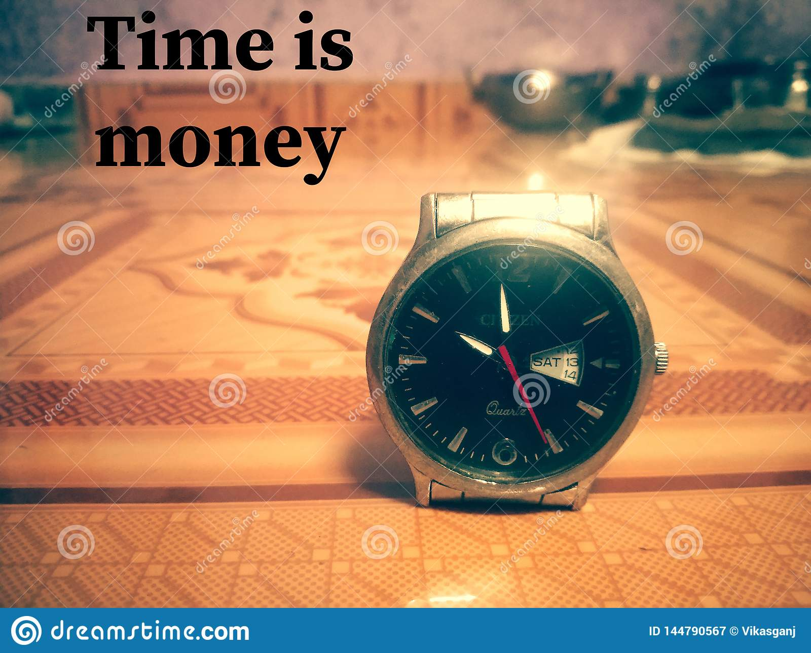 Time is money wallpaper