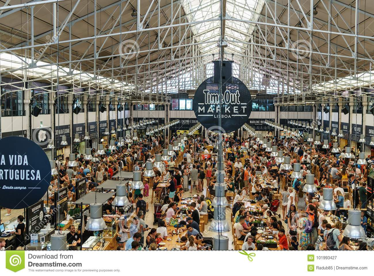 Time Out Market In Lisbon editorial photography. Image of food ... cabdee9cff7cb
