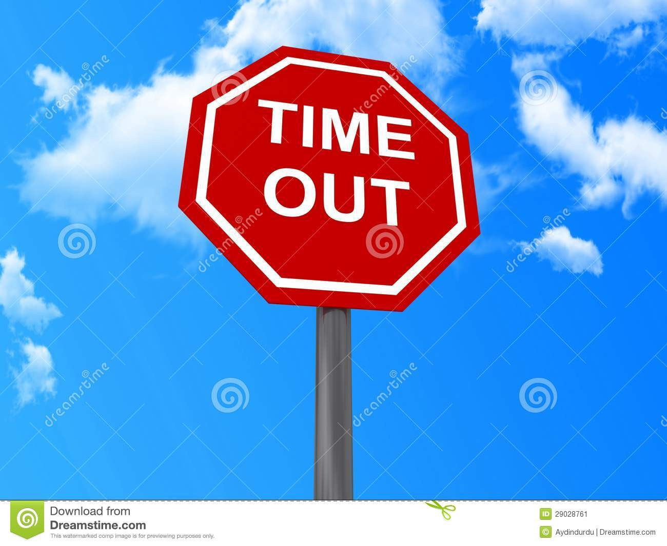 time out sign stock image image 29028761