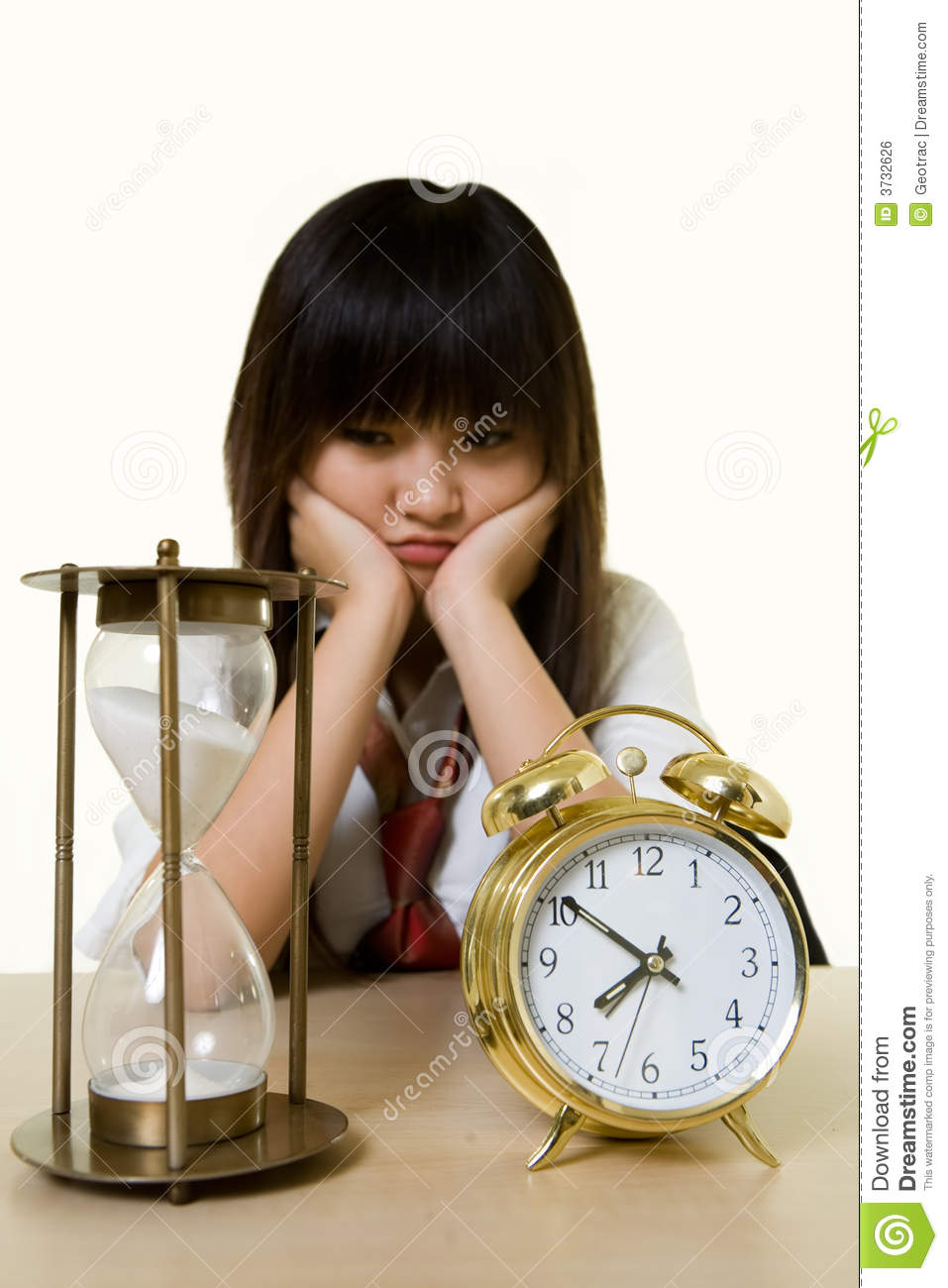 Time Passing Stock Photo Image Of Minute Girl Concept