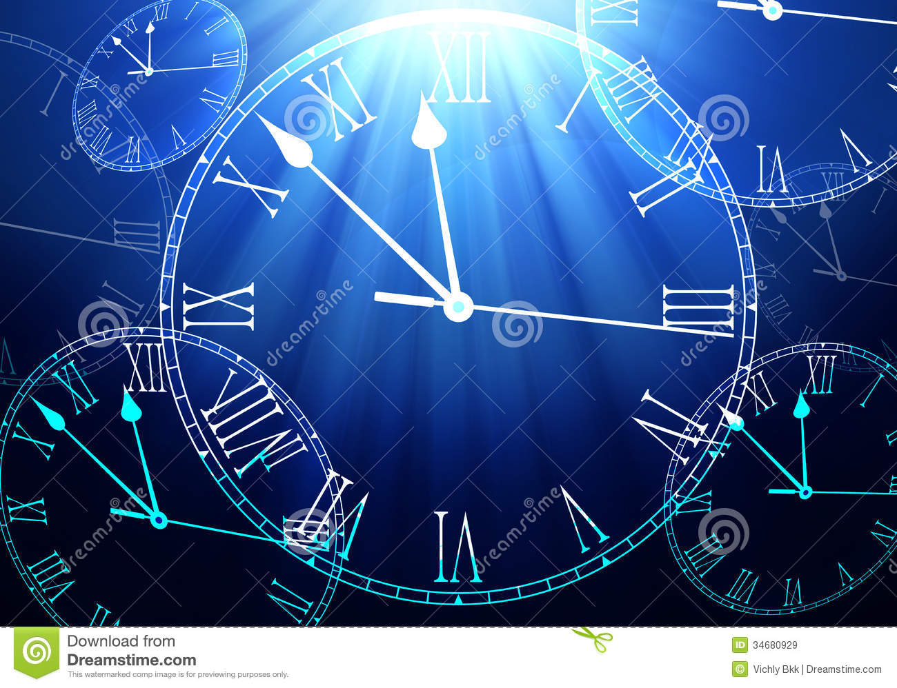 Time Passing Concept Royalty Free Stock Images
