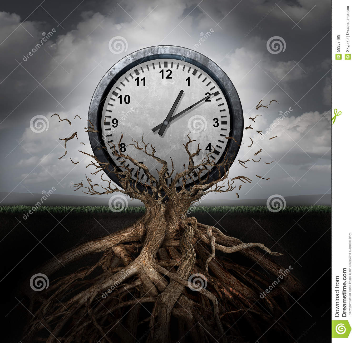 Time Planning Stock Illustration Image 59357489