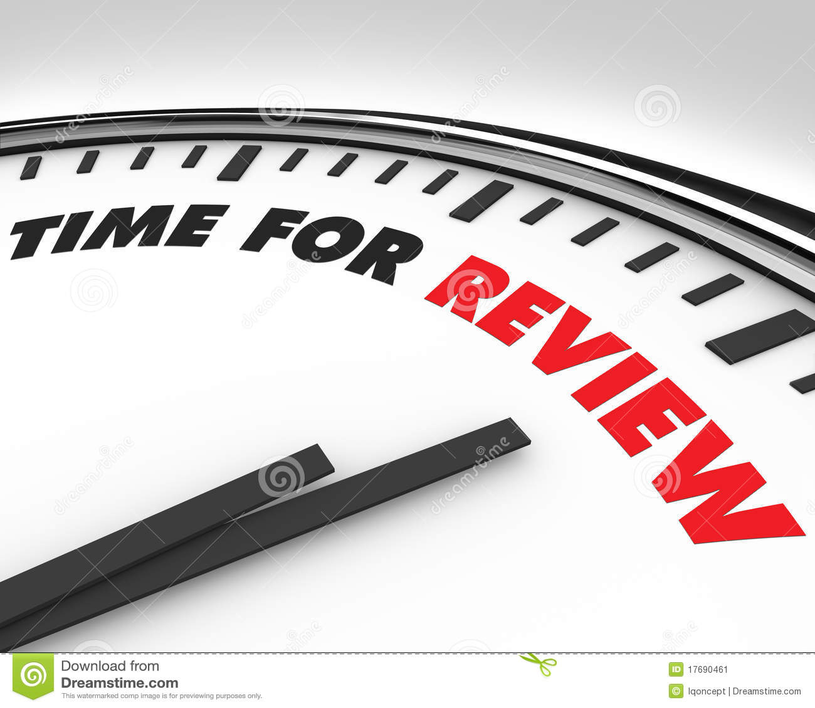 17690461 Grading Review Of For Illustration Illustration Stock Time - Clock