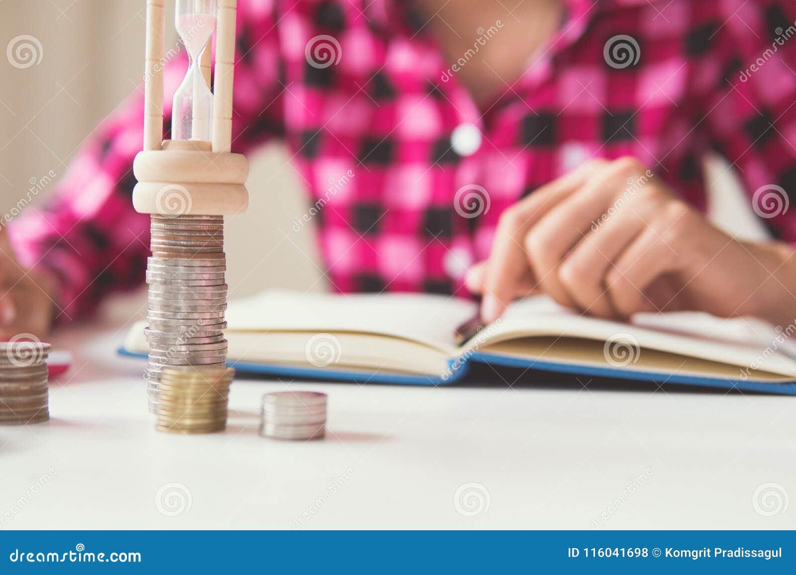 Time of saving value money stock photo  Image of analysis