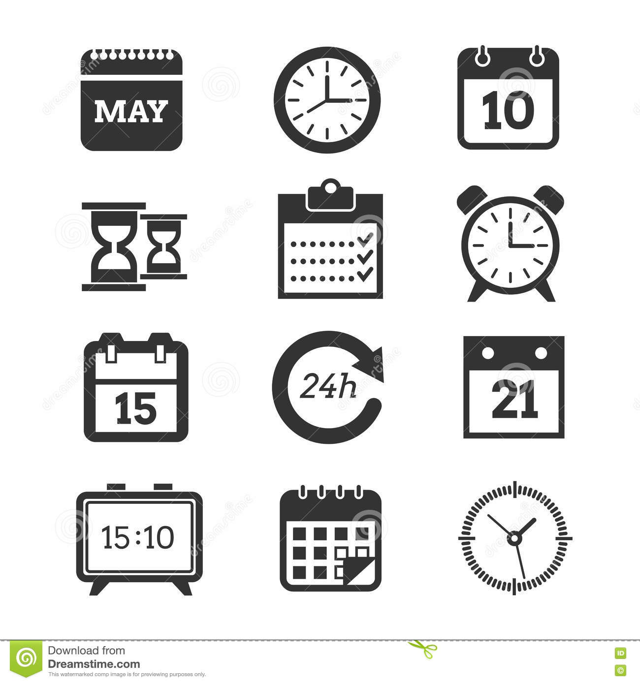 Modern vector colourfully Paper Template of modern design schedule ...