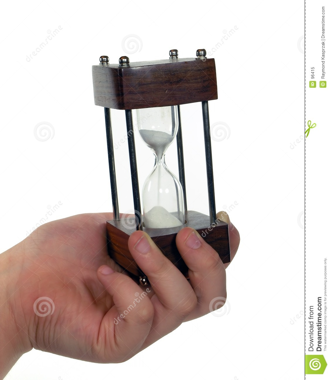 Time Slipping Away Stock Image Image Of Glass Hand Hour 96415