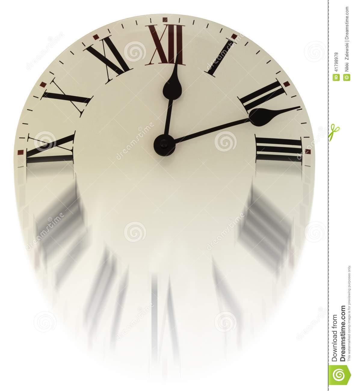 Time Is Slipping Away Stock Photo Image 41798978