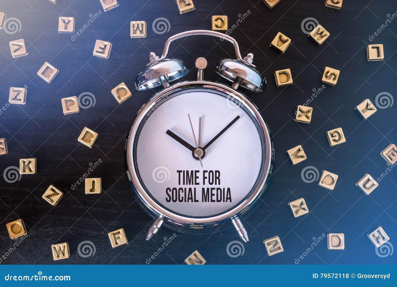 Time for Social Media