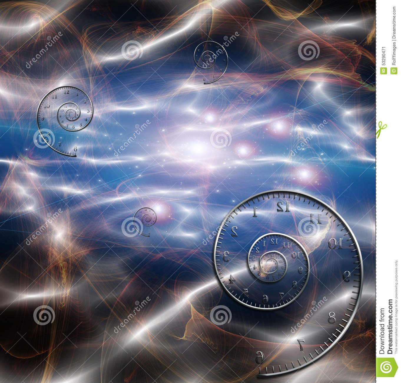 Time space fabric stock illustration image 53290471 for 3d space fabric