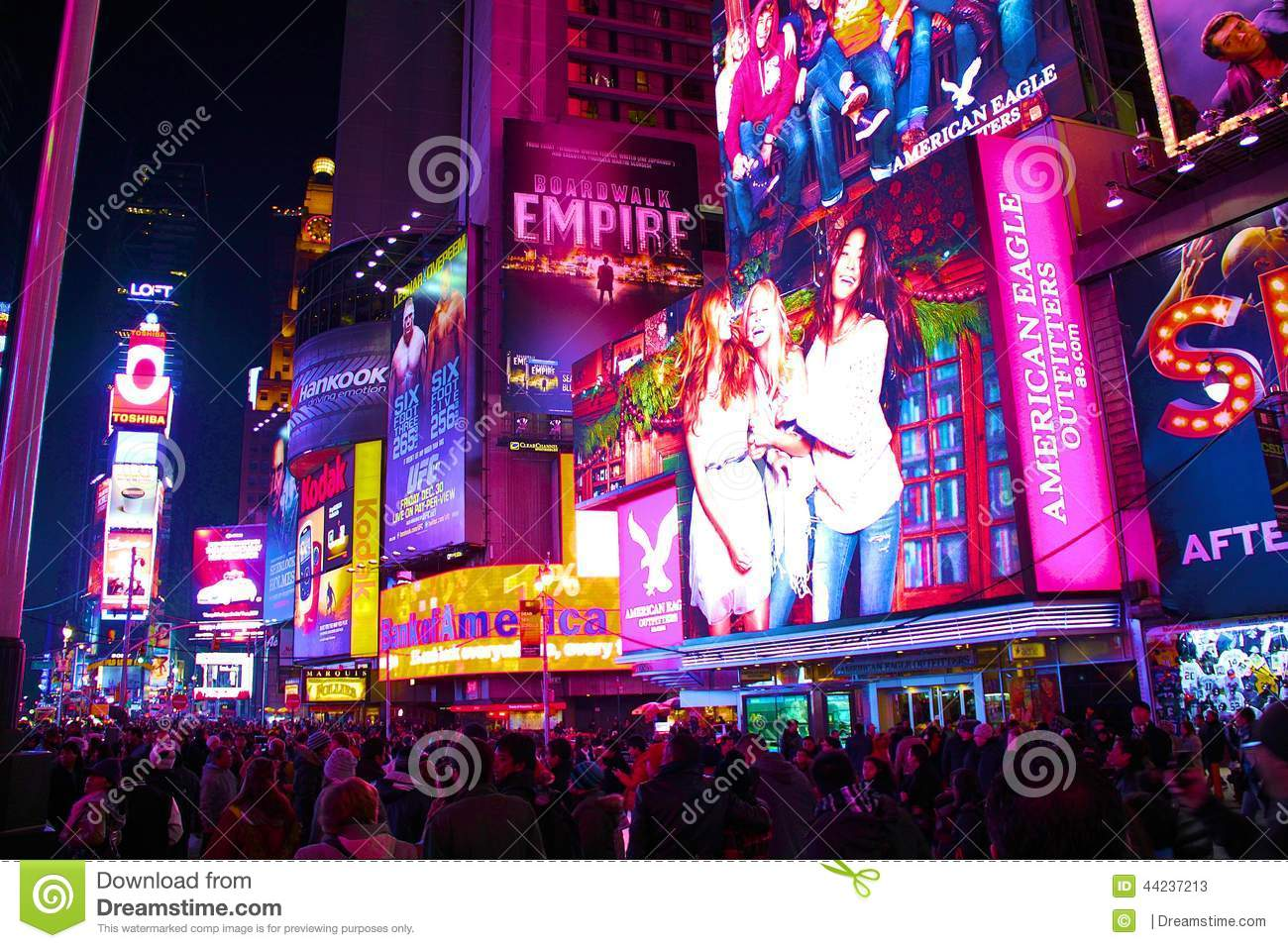 Time square, New-york city