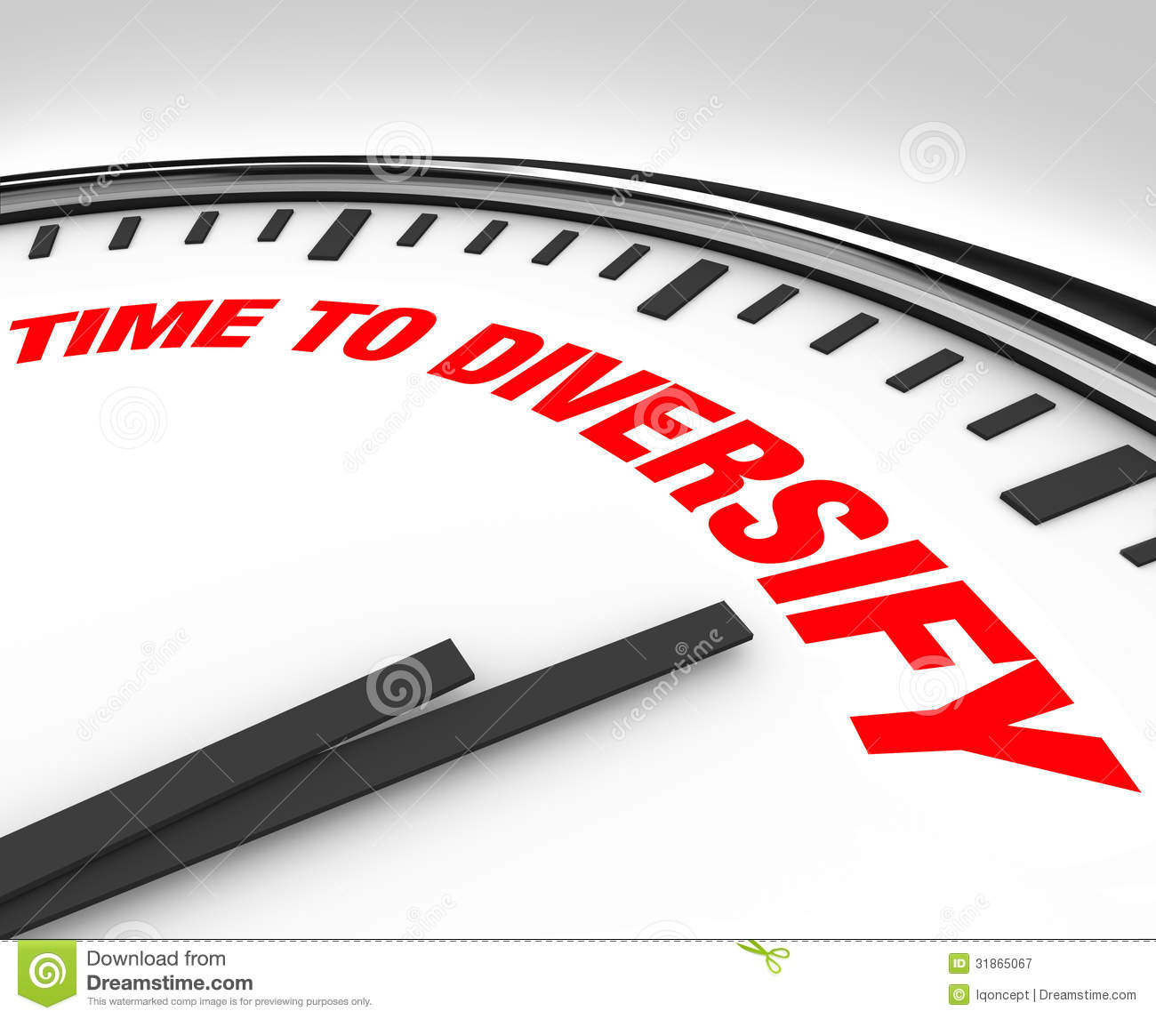 Time to Diversify Clock Manage Investment Risk