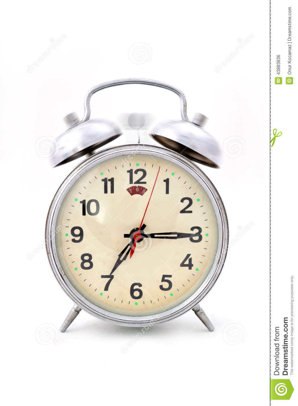 Time to get up to go to work stock photo image 43883836 for Alarm clocks that work