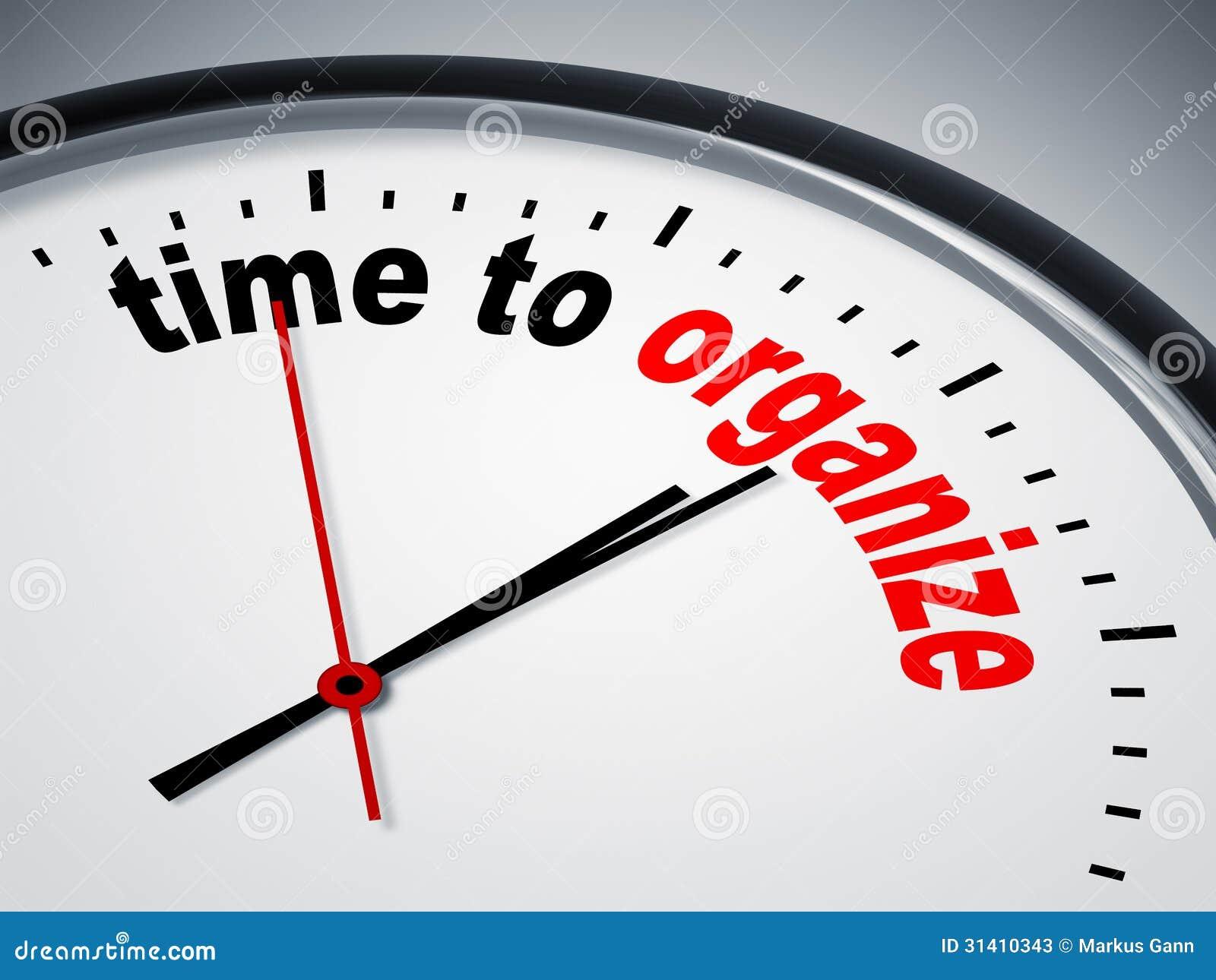 time to organize stock illustration illustration of increase 31410343