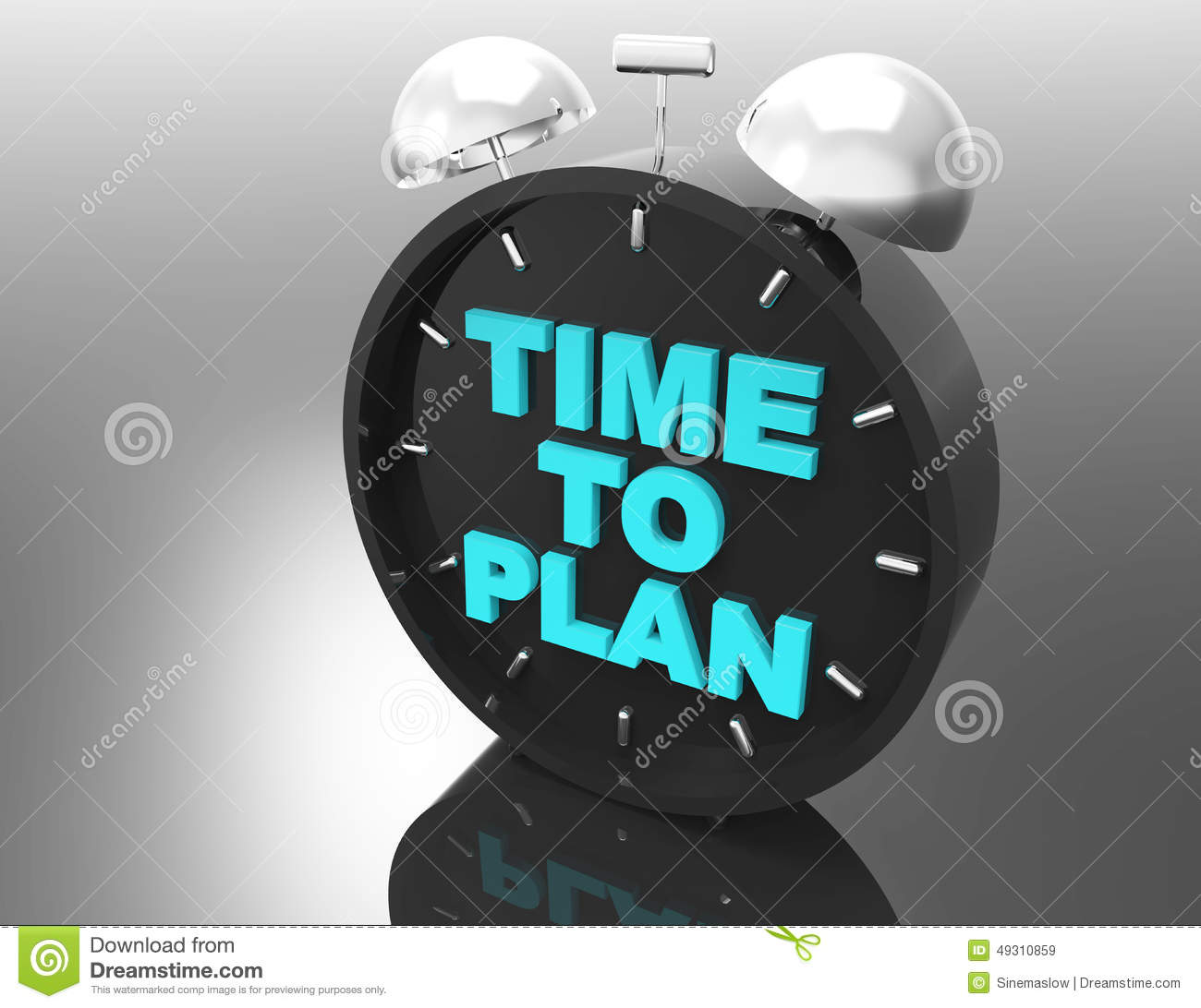 Time to plan concept royalty free stock image for Time design planner