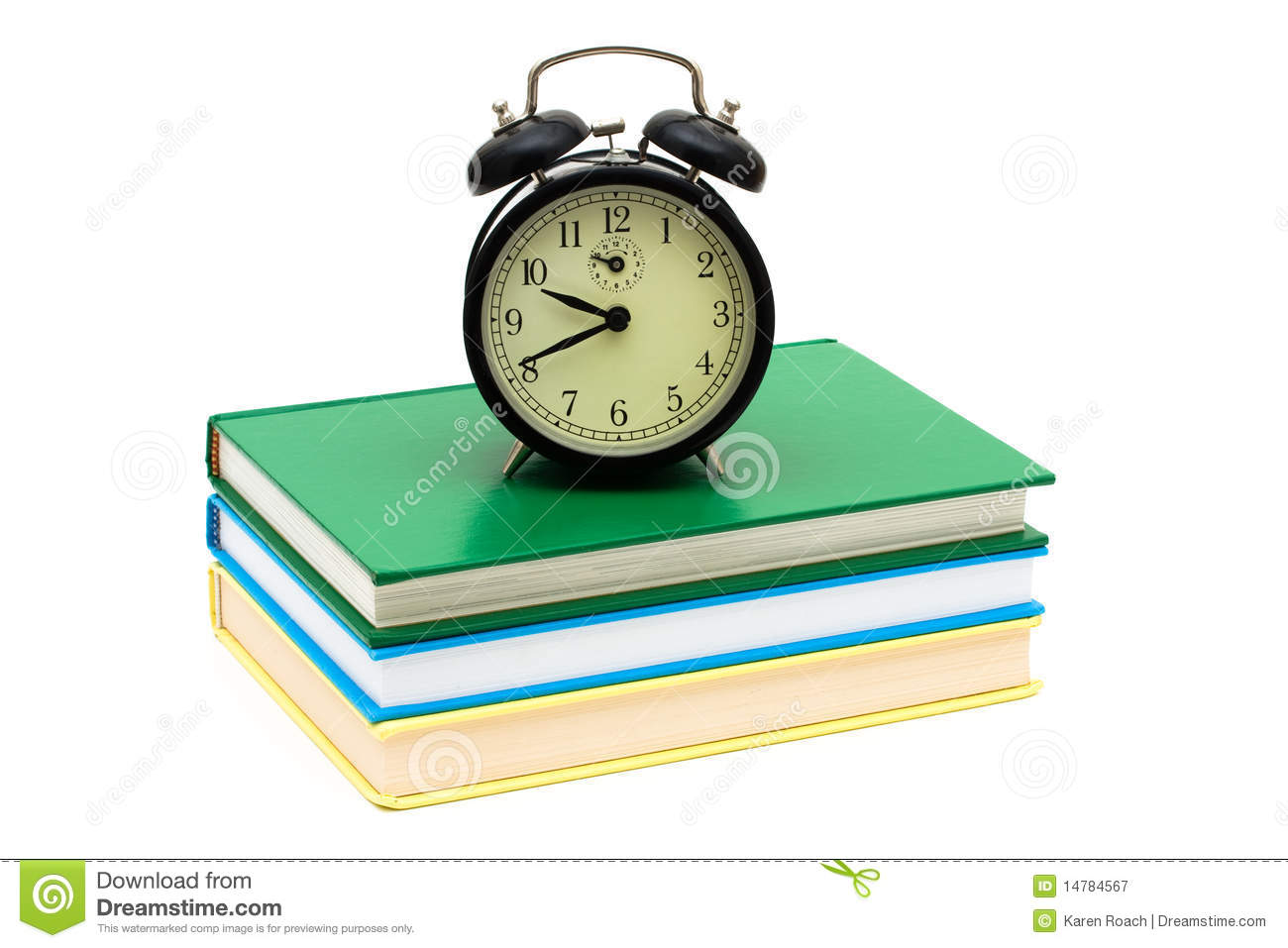 Time To Study Royalty Free Stock Photography Image 14784567