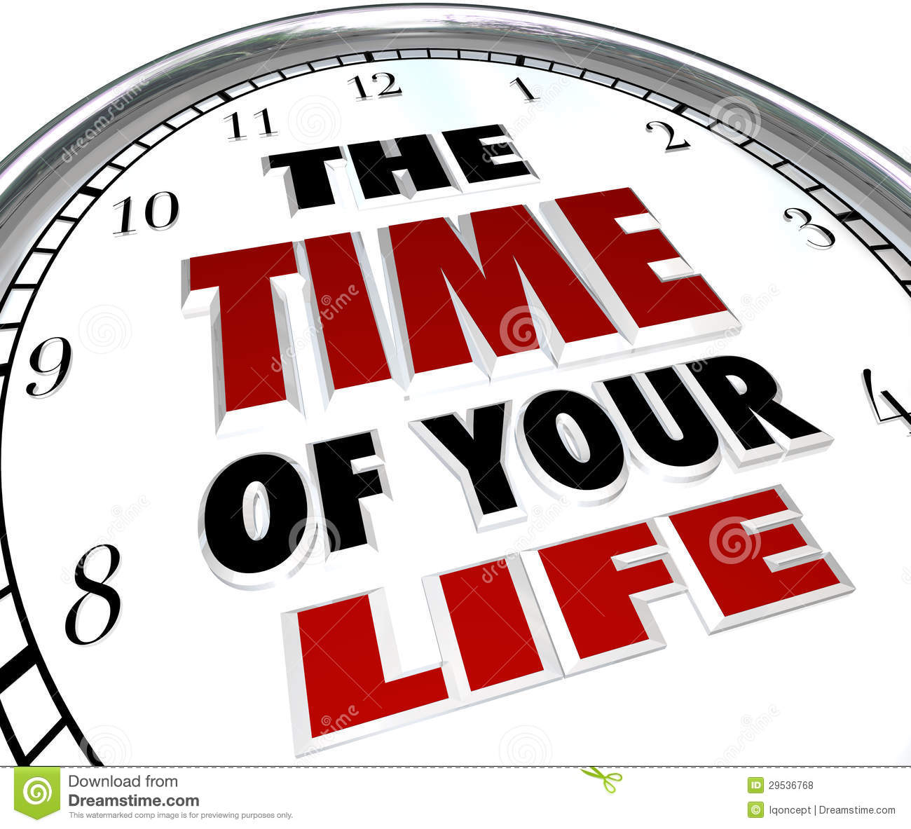 The Time Of Your Life Clock Re...