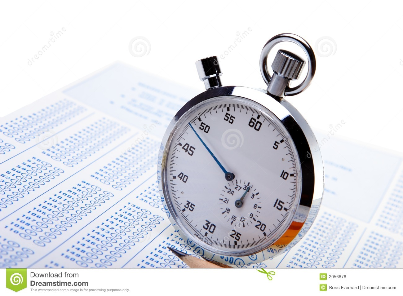 worksheet Timed Test timed test royalty free stock image 2056876 test