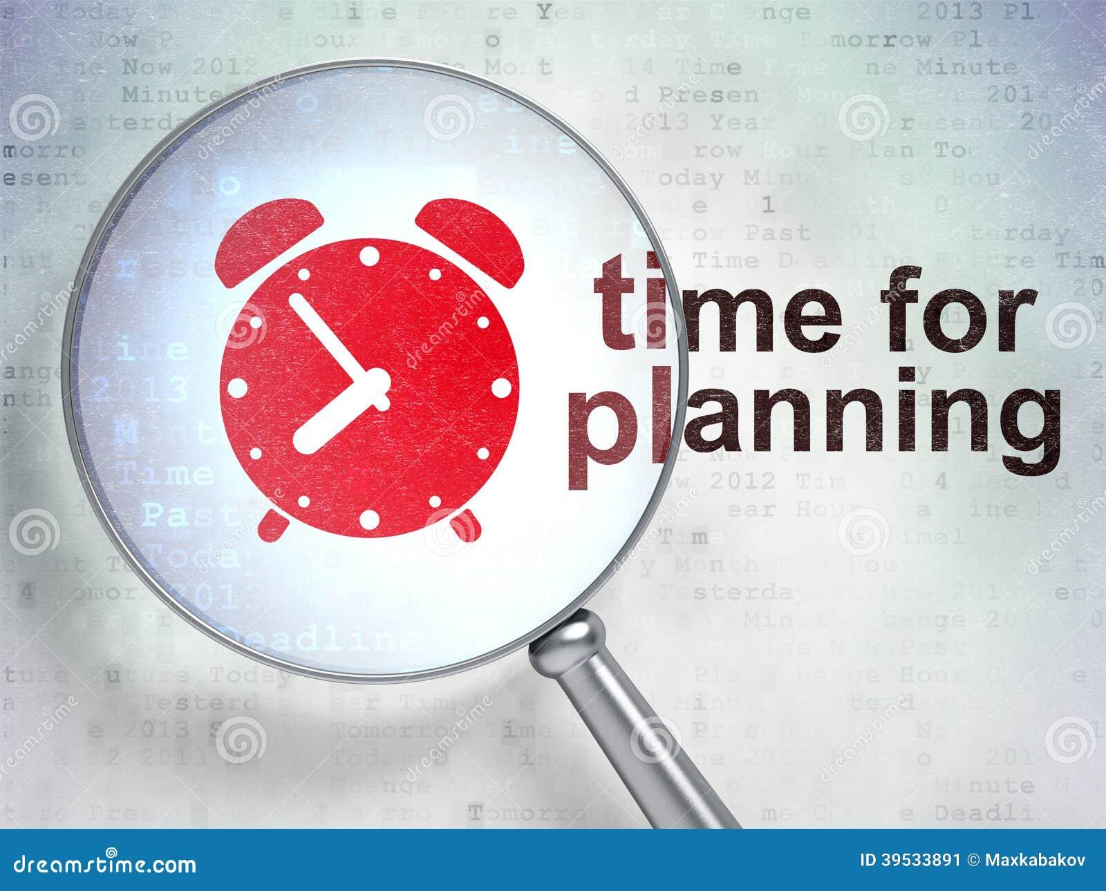 Time Planning Stock Illustration - Image: 59357489