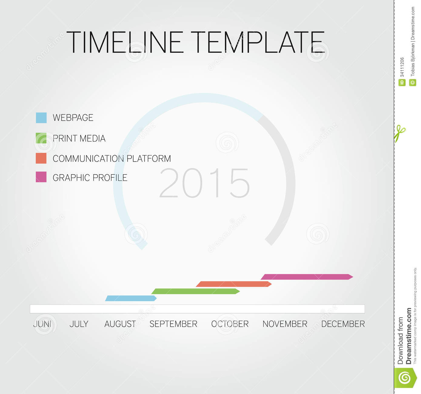 Royalty Free Stock Image Timeline Infographic Business Template ...