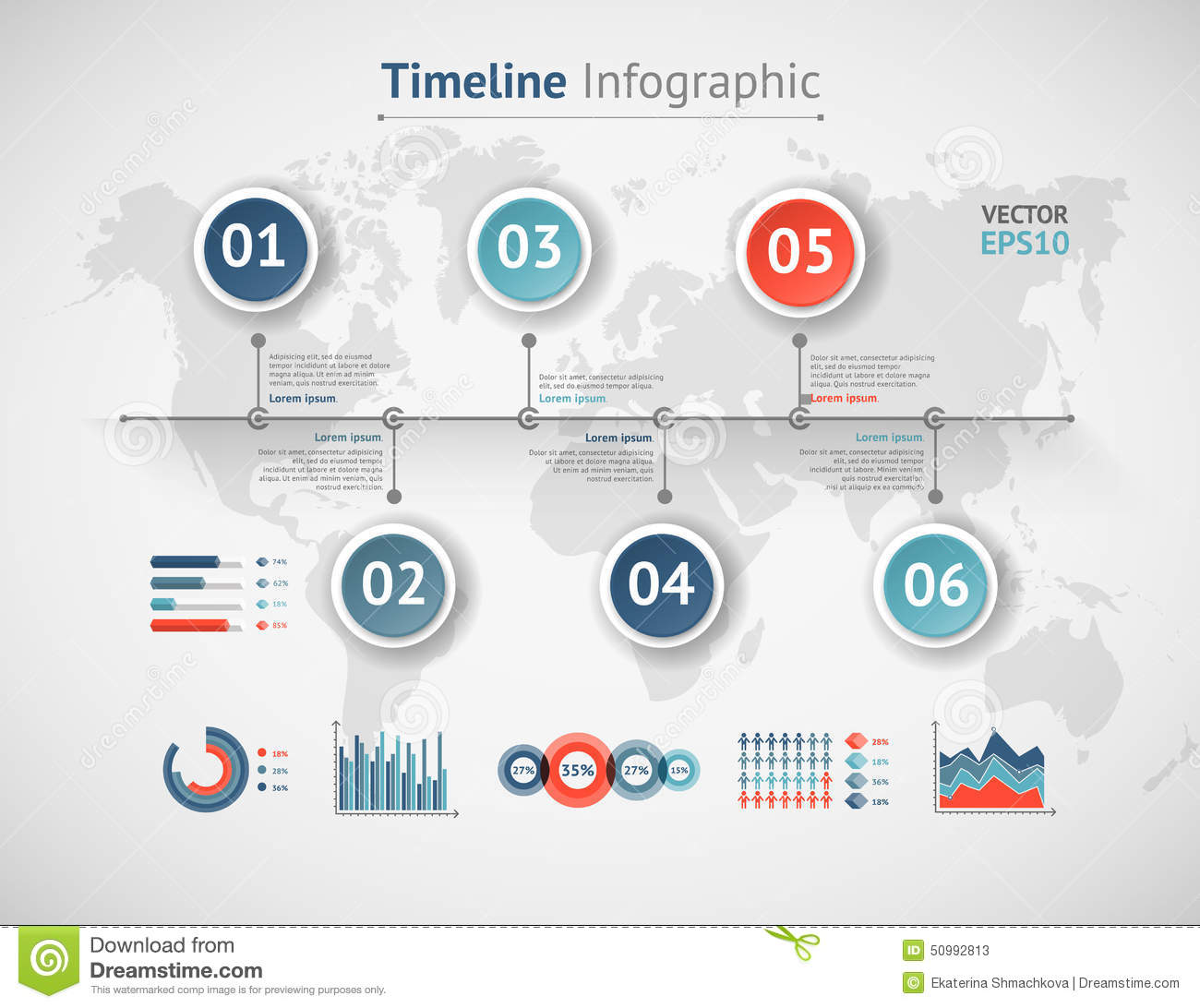 Timeline vector infographic world map stock vector illustration royalty free vector download timeline vector infographic world map gumiabroncs Choice Image