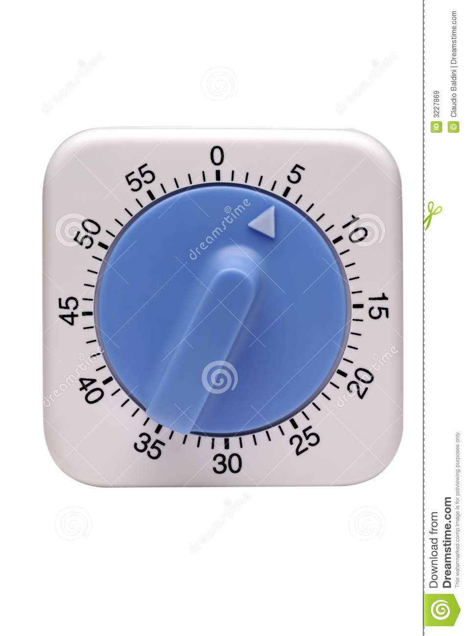 timer  in 5 minutes stock image  image of isolated