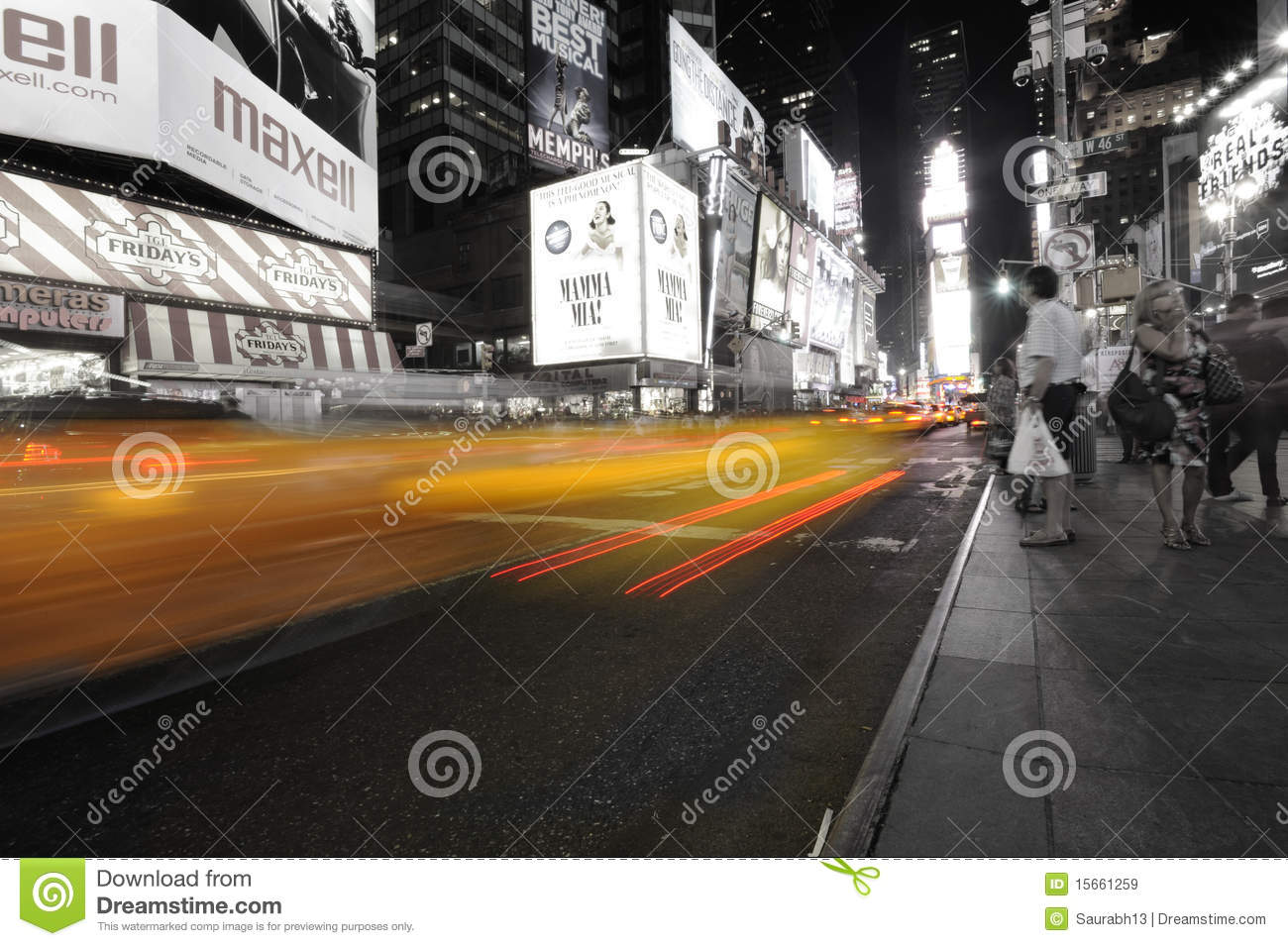 Times Sqaure in New York
