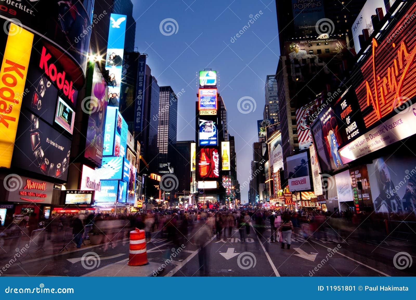 Times Square de Night