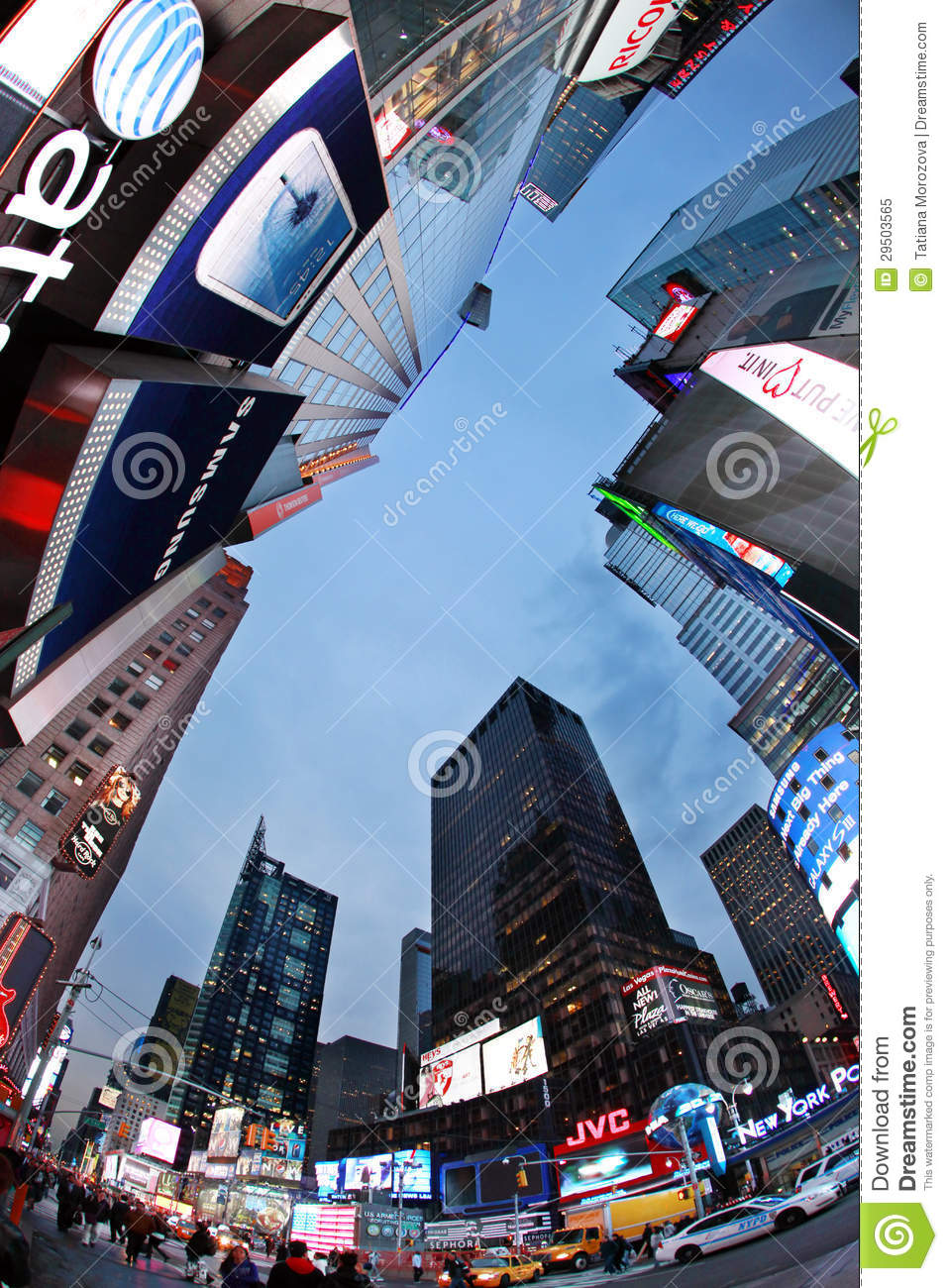 Times Square. De Stad van New York