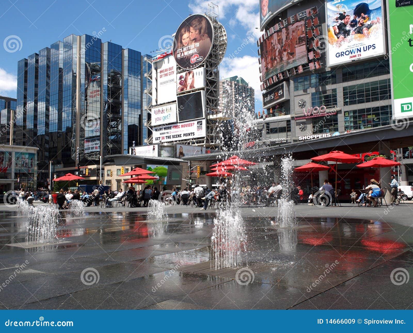 Times Square de Toronto