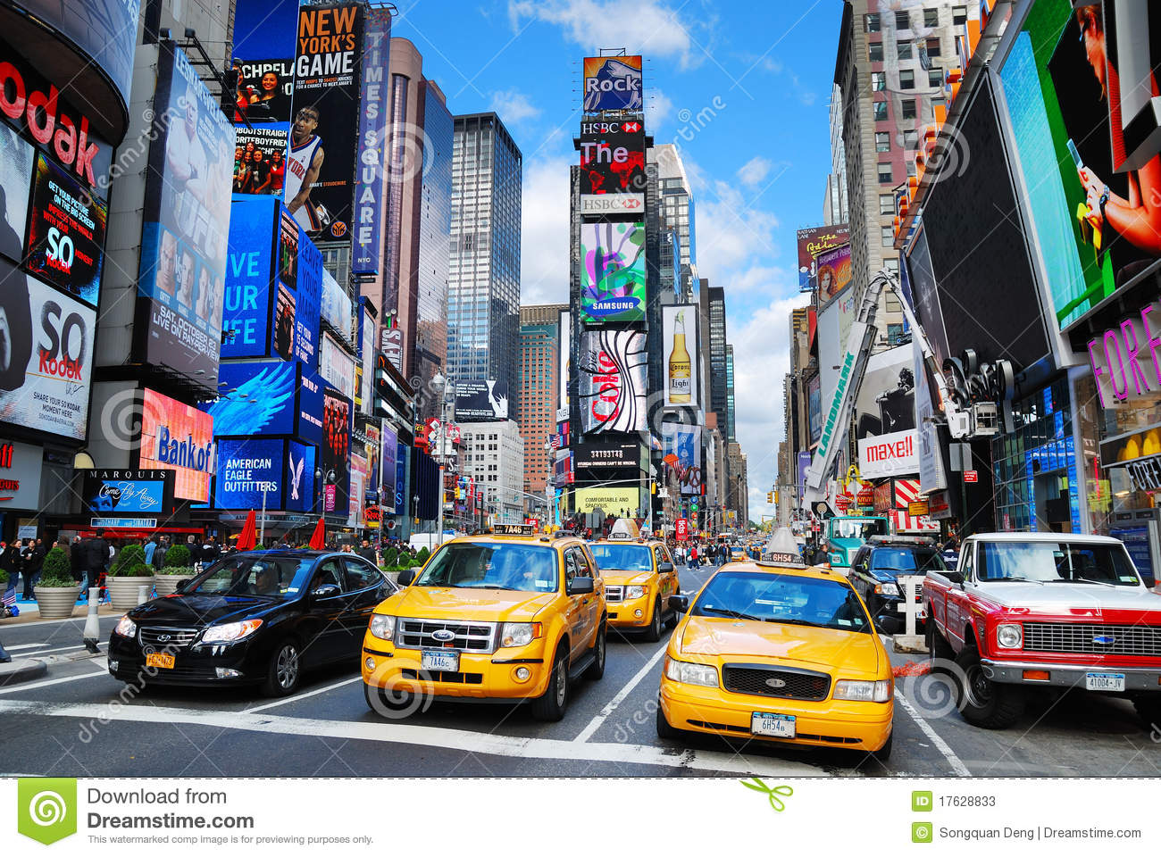 Times square di new york city manhattan fotografia stock for Appartamenti vacanze new york city manhattan